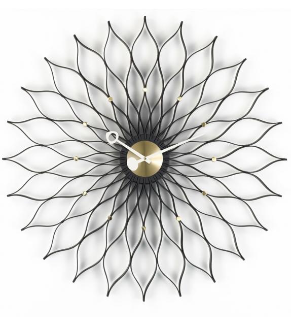 Sunflower Clock orologio