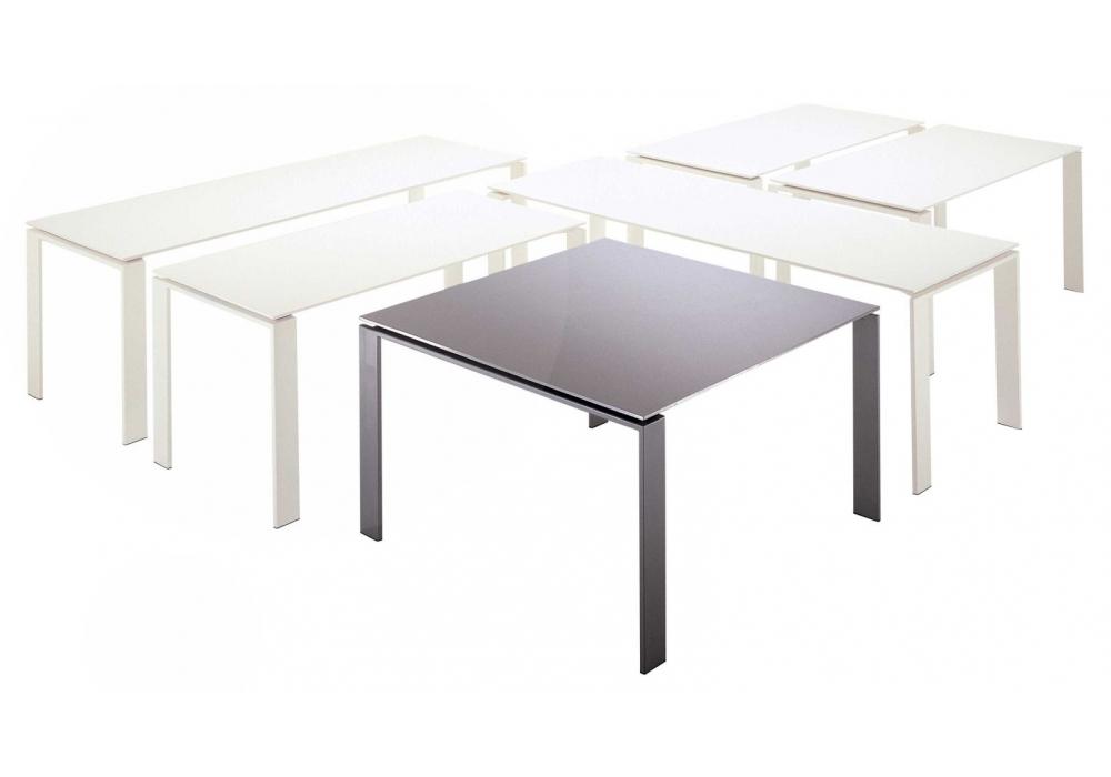 Four kartell table milia shop for Table kartell
