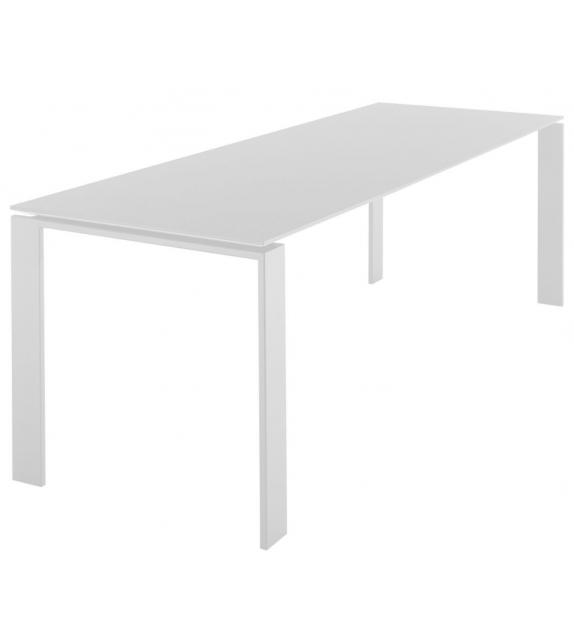 Four tavolo con piano laminato e antigraffio - Milia Shop