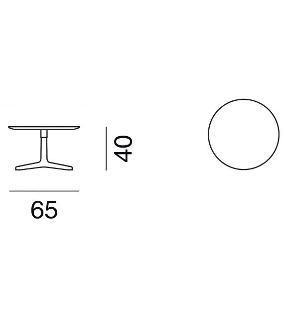 DS-144 / 61 De Sede Table Basse