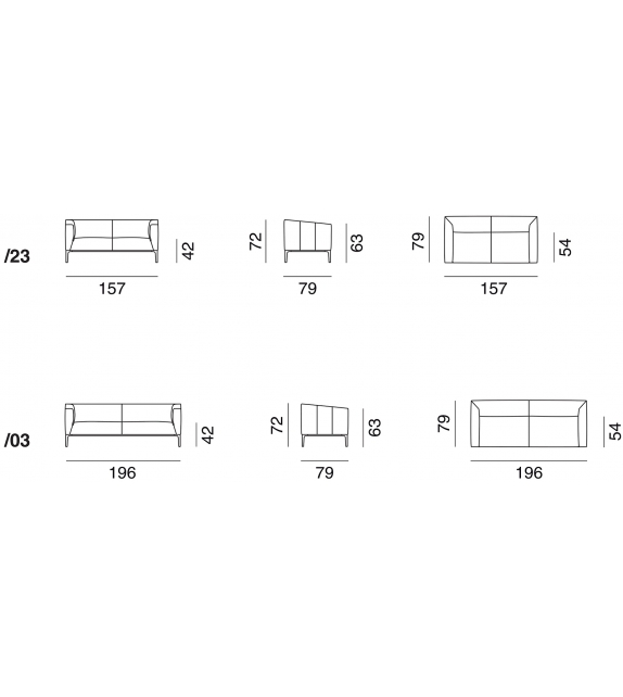DS-161 De Sede Sofa