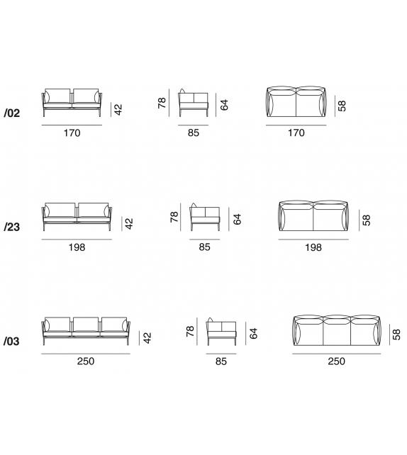 DS-333 De Sede Sofa