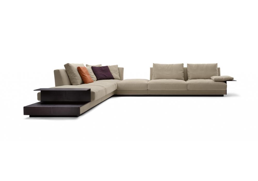 Grand suite walter knoll divano modulare milia shop for Suite modulare suocera