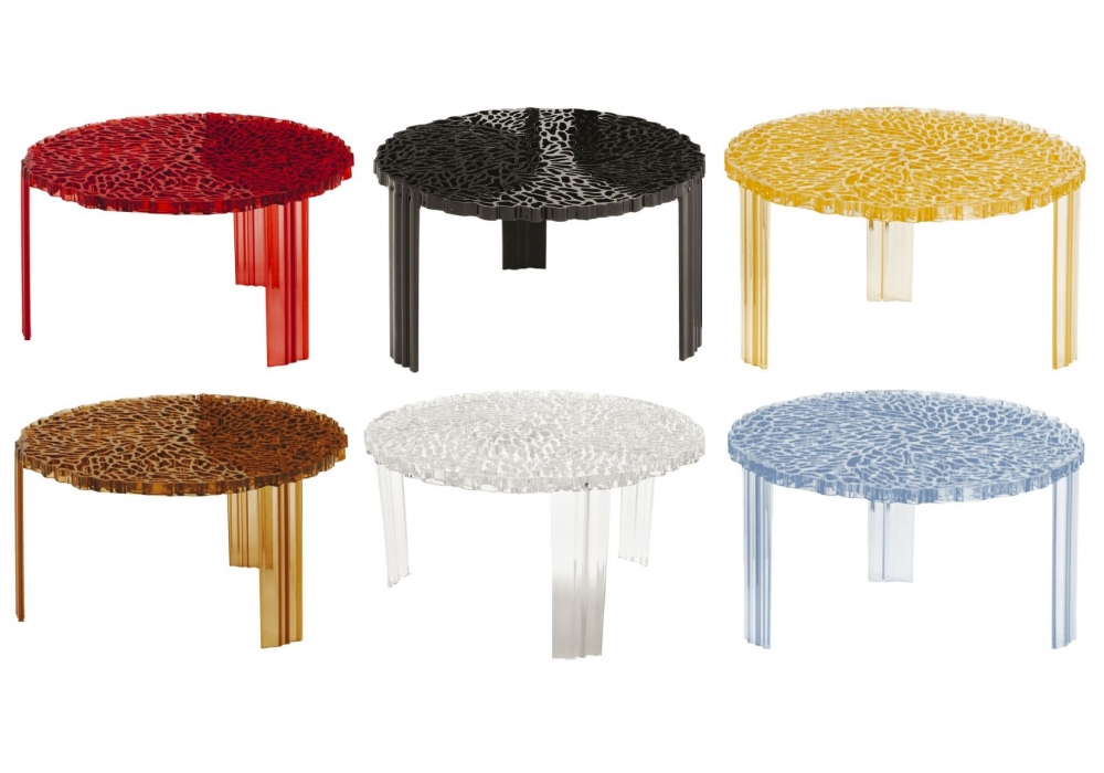 Kartell t table coffee table milia shop for Table kartell