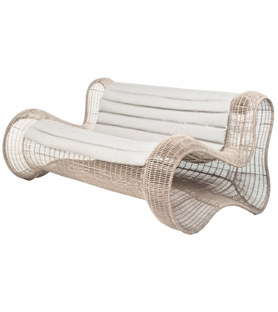 Pigalle Kenneth Cobonpue Outdoor Loveseat