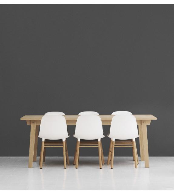 Form Chaise Avec Pieds En Bois Normann Copenhagen Milia Shop