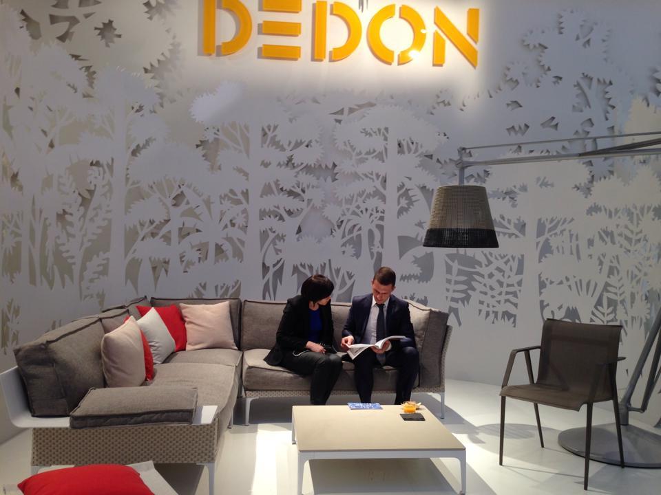 Salone del mobile 2014 - Dedon