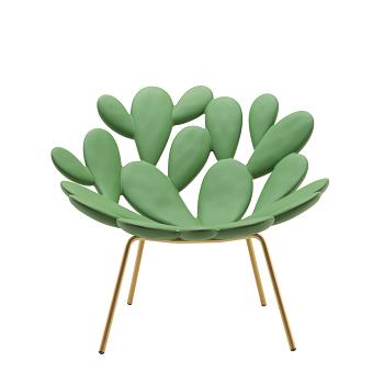 Filicudi_ Balsam Green - Brass