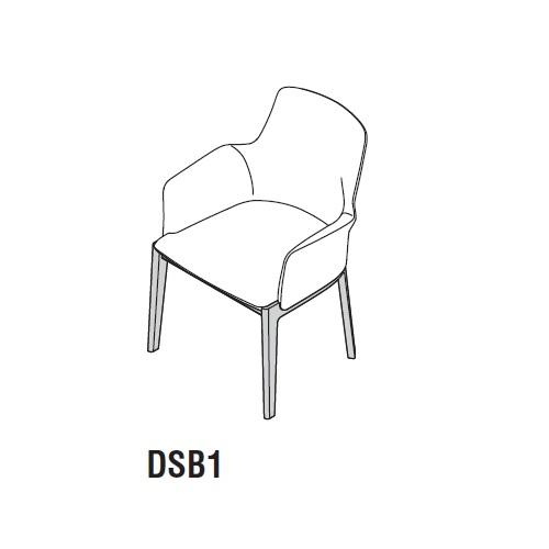 DSB1_ 60 x 61 x H 82 cm