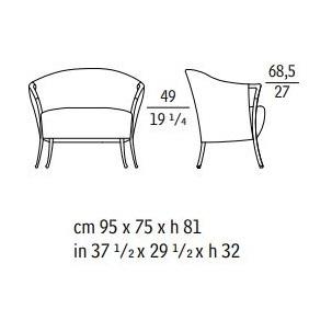 Progetti 63231_ 95 x 75 x H 81 cm