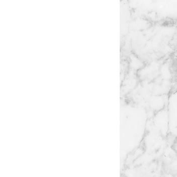 Blanco brillante RAL 9003 / Mármol blanco de Carrara