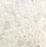 RECONSTITUTED COARSE-GRAINED STONE - COL. IVORY WITH LARGE WHITE GRIT STONES cod. 204