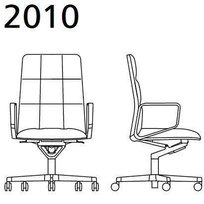 2010_ 78x78xH 105–113 - réglable en hauteur