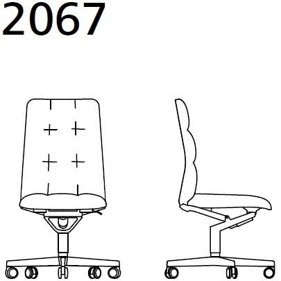 2067_ 72x72xH101,5 cm - Senza braccioli