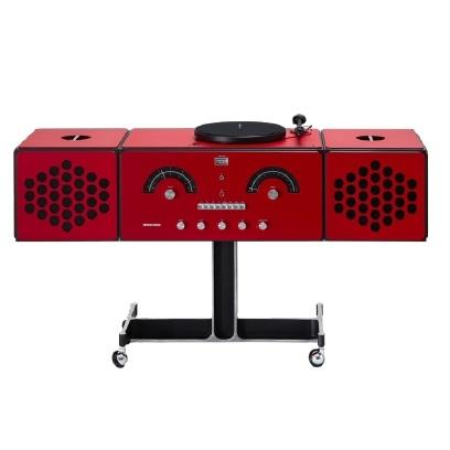 Radiofonografo_ Rosso
