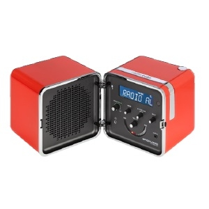 Radio.cubo_ Arancio Sole