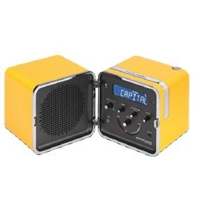 Radio.cubo_ Giallo Sole