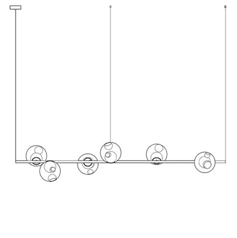 28.8 Ø11,6 x L 1,80 cm ( Stem Horizontal )