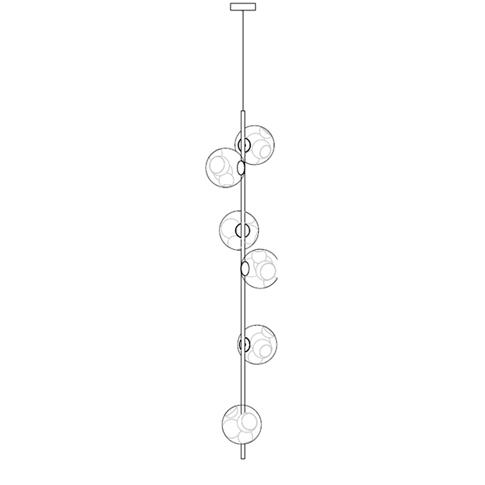 38.6V Ø11,6 x H 1,80 cm ( Stem Vertical )