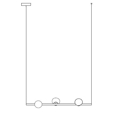 84.3 Ø11,6 L 90 cm ( Stem  Horizontal )