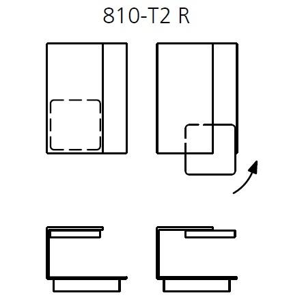 810-T2_ Right_ 45 x 62-74 x H 36 cm