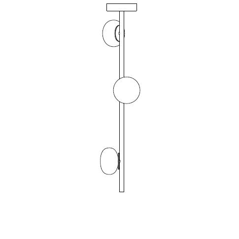 84.3V Ø14,2 H 90 cm ( Stem )