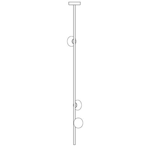 84.3V Ø14,2 H 1,80 cm ( Stem )