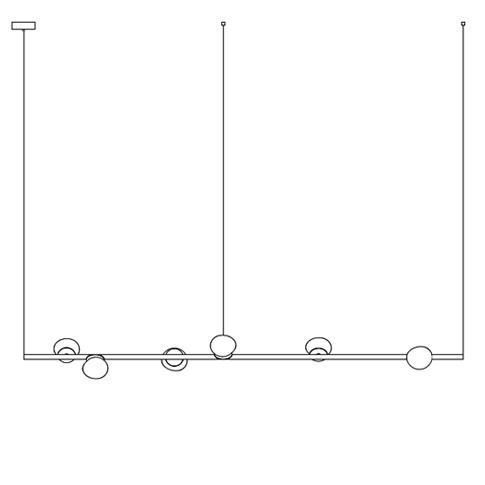 84.6 Ø11,6 H 1,80 cm ( Stem  Horizontal )