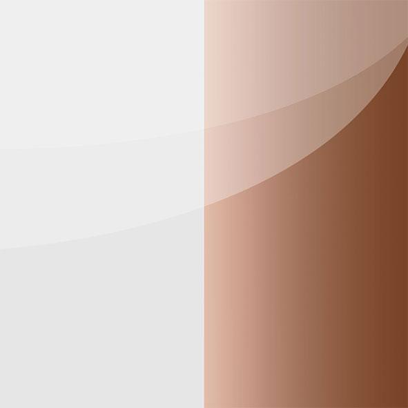 weiß-bronze