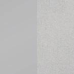 Estructura de aluminio anodizado natural, superficie laminado HPL gris