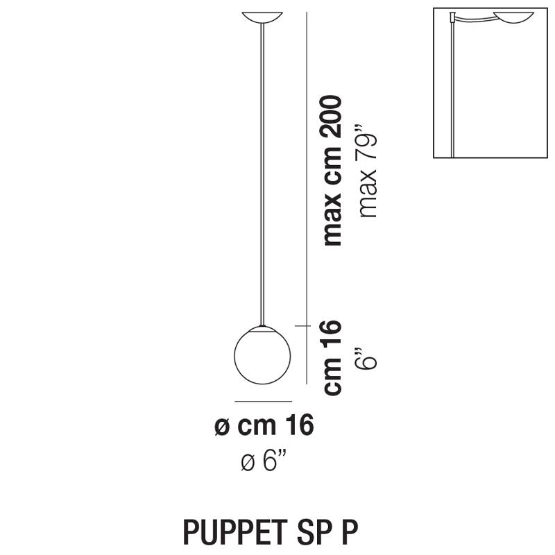Puppet SP P_ Ø 16 x H 16 cm