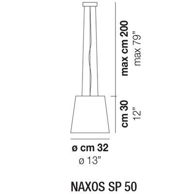 NAXOS SP 50_ Ø 32 x H 30 cm