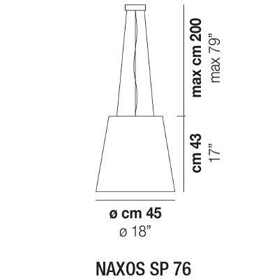 NAXOS SP 76_ Ø 45 x H 43 cm