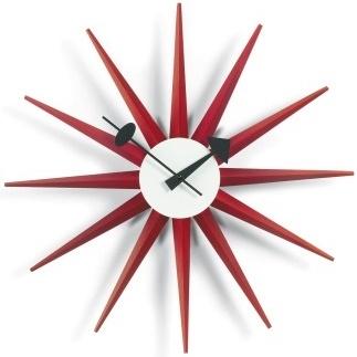 Sunburst Clock_ Rot