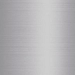 Satin polished aluminium