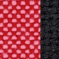 Hopsak_68 pink-poppy red / 66 Black