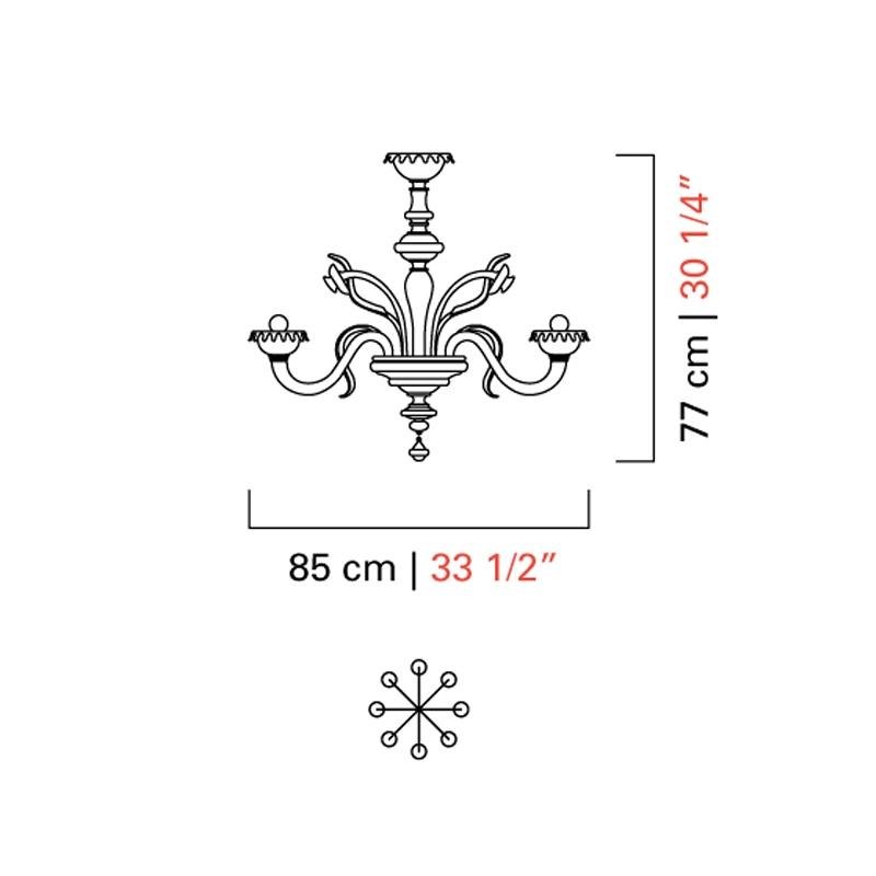 5384/08 _ ø 85 x H 77 cm