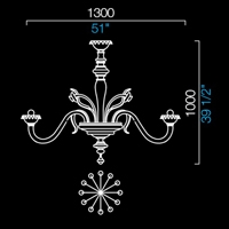 5384/12 _ ø 130 x H 100 cm