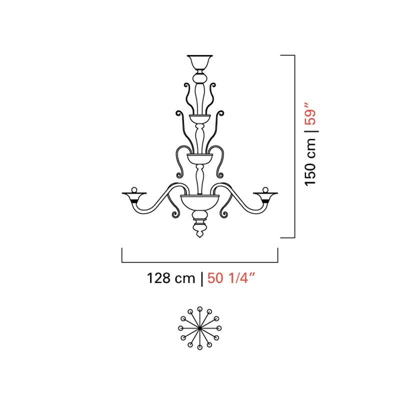 5308/12 _ ø 128 x H 150 cm