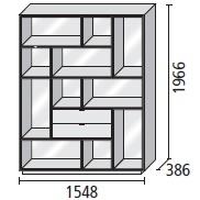 13_ 154.8 x 38.6 x H 196.6 cm
