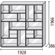 15_ 192.8 x 38.6 x H 196.6 cm