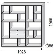 16_ 192.8 x 38.6 x H 196.6 cm