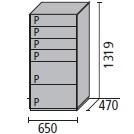 10_ 65 x 47 x H 131.9 cm