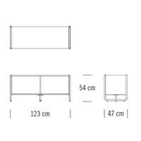 C102_123 x 47 x H 54 cm