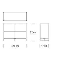 C104_123 x 47 x H 92 cm