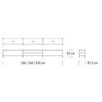 7000/C301_246 x 45.5 x H 53 cm