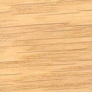 Clear stained oak