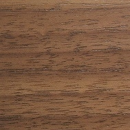 Clear stained walnut