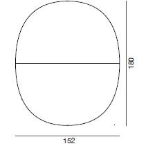5103_ 152 x 7 x H 180 cm