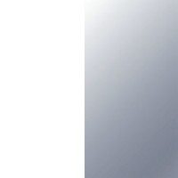 Blanc / Base acier inox